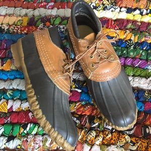 L.L. Bean Maine Hunting Shoes Rubber Size 8